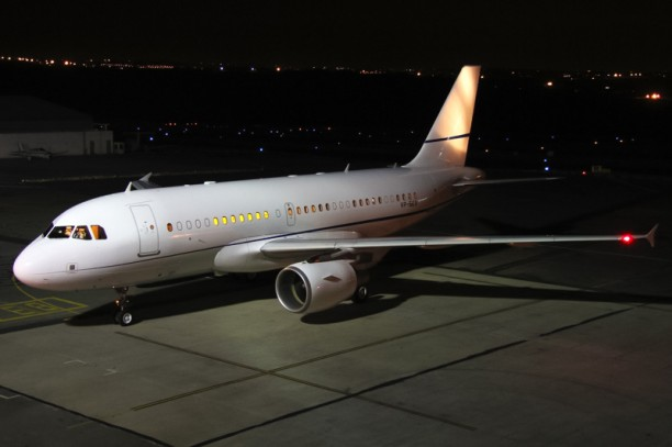 This private Airbus, known as VP-BEX, was a monthly visitor to Zimbabwe, and is believed to have carried out millions of dollars in undeclared diamonds from the Marange mine.