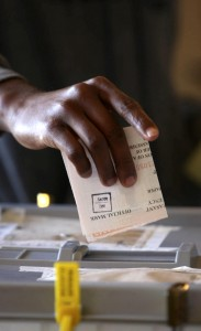 Presidential elections, Harare, Zimbabwe - 31 Jul 2013