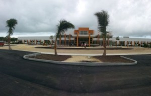 Construction of a new hospital in the Cayman Islands, a joint venture of the U.S.-based nonprofit Ascension Health and the a for-profit Indian hospital chain, Narayana Health.