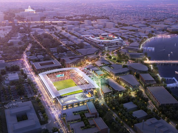 DC United Proposed Soccer Stadium