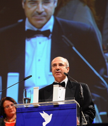 William Browder at the Cinema for Peace Gala, Berlin International Film Festival, 2012.